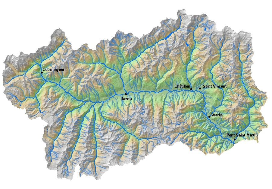 Valle D Aosta Cartina Politica.La Valle D Aosta Lessons Tes Teach