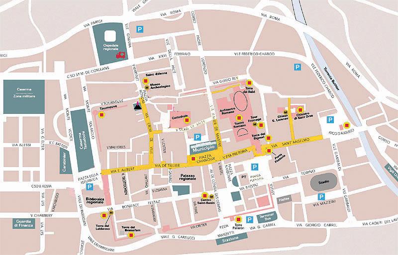 Cartina Stradale Valle D Aosta.Valle D Aosta Informazioni Pratiche