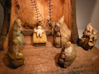 Presepe Artigianali Di Legno : Vendesi presepi artigianali in sughero e legno rivoli vendere ai